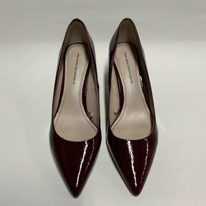 Zara Basic Collection 40 Burgundy High Heels